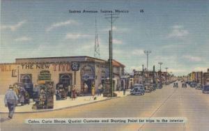 Cafes, Curio Shops, Quaint Customs, New Tivoli Cafe, Juarez Avenue, Juarez, M...