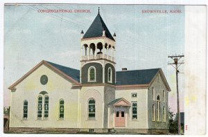 Brownville, Maine, Congregational Church