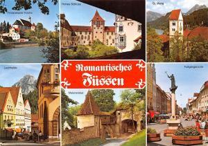 Fuessen multiviews Hohes Schloss St. Mang Lechhalde Kirche Fussgangerzone