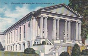 South Carolina Greenville Buncombe Street Methodist Church