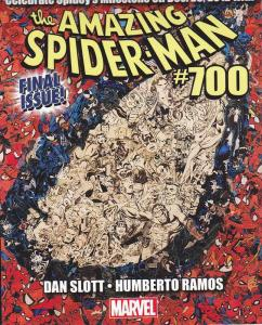 Amazing Spiderman Comic Book  #700 AD , 2012