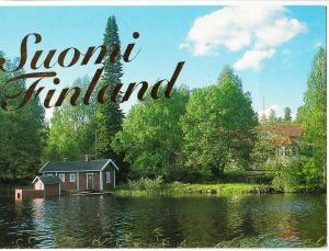 Suomi Finland, unused Postcard