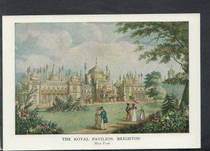 Sussex Postcard - The West Front, The Royal Pavilion, Brighton (Repro)  RR7045