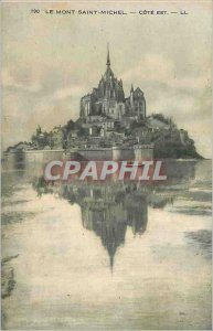 190 Old Post Card Mont Saint Michel rating is