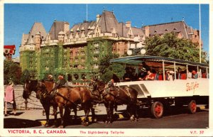 Canada Victoria Sight Seeing Tally-Ho 1956