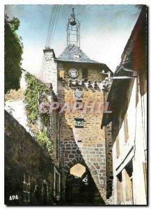 Modern Postcard Salers (Cantal) alt 943 m Belfry