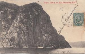 B77764 cape trinity on the saguenay river canada scan front/back image