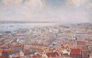 LISBOA, Portugal, 1900-1910s; General View