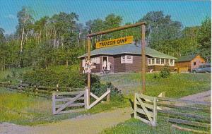 Canada Cookhouse Francois Lake Boy's Camp British Columbia
