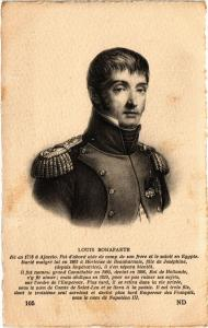 CPA Louis Bonaparte Royalty Nobelty (315042)