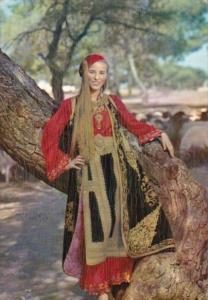 Native Girl Greek Costumes Saracatsana 1961