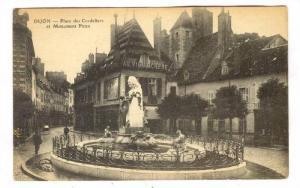 Place Des Cordeliers Et Monument Piron, Dijon (Côte-d'Or), France, 1900-1910s