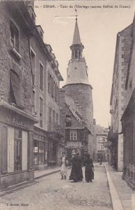 Tour De l'Horloge (Ancien Beffroi De Dinan), DINAN (Côtes-d'Armor), France, ...
