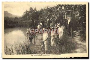Old Postcard The people of God s & # 39aime truly