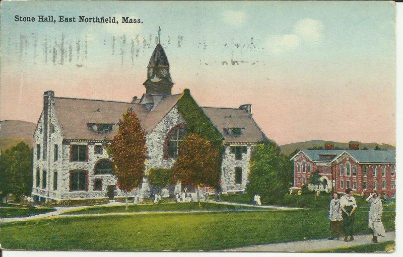 East Northfield, Mass., Stone Hall