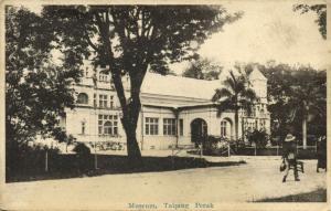 malay malaysia, TAIPING PERAK, Museum (1910s)