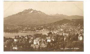 RP: Luzern mit Pilatus , Switzerland, 00-10s
