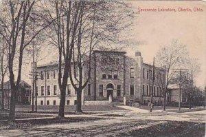 Ohio Oberlin Severance Labratory 1911