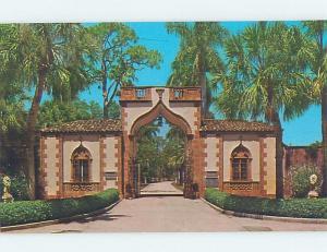 Unused Pre-1980 BUILDING SCENE Sarasota Florida FL G0264
