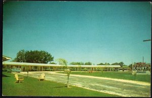 Florida INGLIS Withlacoochee Court on US Hwys 19 and 98 - 1950s-1970s