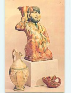 1964 Postcard - T'Ang Dynasty Wine Cellar Tomb Figure China p9263