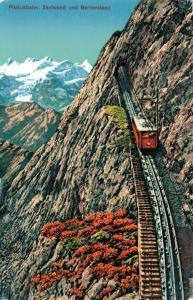 Switzerland Pilatusbahn Eselwand und Berneralpen 01.59