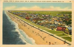 VA, Virginia Beach, General View, Tichnor No. 61696