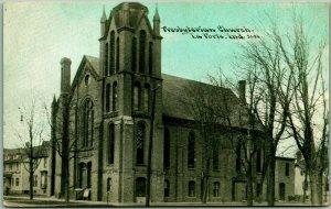 Vintage LA PORTE, Indiana Postcard Presbyterian Church - C.U. Williams c1910s