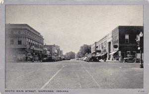 NAPPANEE, Indiana, PU-1945; South Main Street