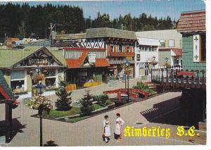 Street Scene Bavarian Corner Kimberley British Columbia Canada