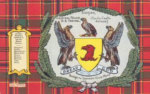 Tarton & Clan Coat of Arms , SCOTLAND , 00-10s ; Clan Munro