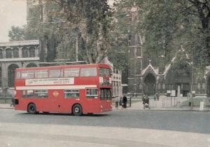 Go Greyhound Dog Racing At White City London Bus Advertising Postcard