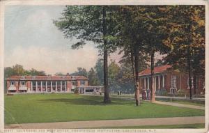 Colonnade And Post Office, Chautauqua Institution, CHAUTAUQUA, New York, 1910...