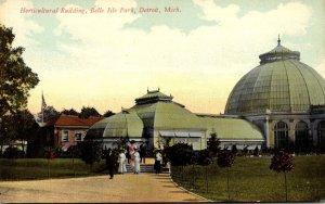 Michigan Detroit Belle Isle Park Horticultural Building