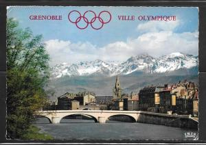 France, Grenoble, olympic rings, mailed