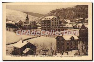 Old Postcard Villard De Lans Dauphine France Splendid Hotel