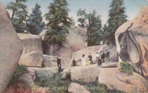 Colorado Mount Manitou Park Stage Rocks