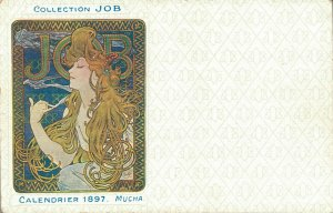 Collection JOB Calendrier 1897 Alphonse Mucha 04.39