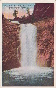 Colorado Colorado Springs Bridral Veil Falls Seven Falls South Cheyenne Canon