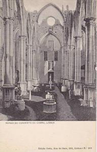 Ruinas do Convento do Carmo, Lisboa, Portugal, 00-10s