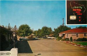 WA, Spokane, Washington, Liberty Motel, Multi View, Mike Roberts No. SC6206