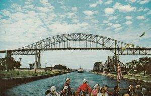 SAULTE STE. MARIE , Ontario, 1950-60s ; The Canadian Lock