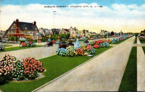 New Jersey Atlantic City Margate Parkway 1948