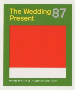 The Wedding Present Leeds Indie Rock George Best LP Postcard