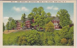 North Carolina Mars Hill Edna Moore New Dormitory Mars Hill College