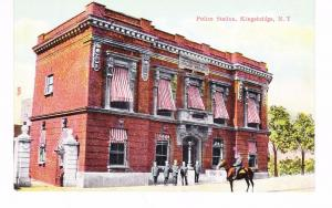 BRONX POLICE STATION, KINGSBRIDGE TERRACE & PEROT ST.,  NYC