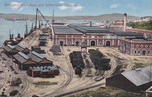GIBRALTAR, 00-10s ; Dockyard Workshops & Waterfront