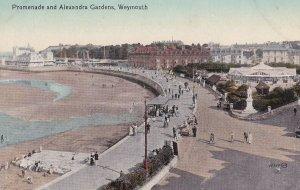 WEYMOUTH, Dorset, England, 1900-1910's; Promenade And Alexandra Gardens