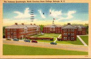 North Carolina Raleigh The Irishman Quadrangle North Carolina State College1948
