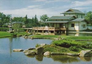 Canada Alberta Lethbridge The Japanese Gardens
